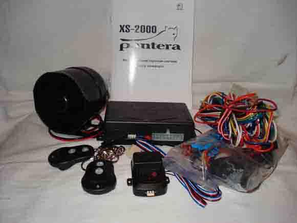 Автосигнализация PANTERA XS-2000.
